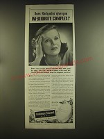 1939 Cashmere Bouquet Soap Ad - Does body-odor give you inferiority complex?