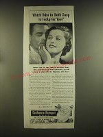 1939 Cashmere Bouquet Soap Ad - Which odor in bath soap is lucky for you?