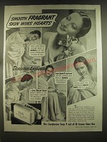 1939 Lux Soap Ad - Dorothy Lamour - Smooth fragrant skin wins hearts
