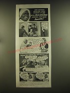1939 Aunt Jemima's Pancake Mix Ad - Now mother's mealtime panic changed to joy