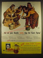 1939 Karo Syrup Advertisement - the Dionne Quintuplets - we give thanks