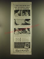 1939 Cocomalt Drink Ad - A new and better way for the whole family to get