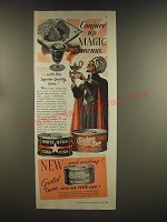 1939 White Star and Chicken of the Sea Tuna Ad - Conjure up magic menus