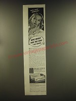1939 Tampax Tampons Ad - We're a lucky generation! More women than you think