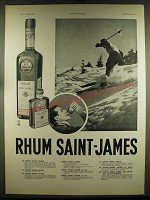 1939 Rhum Saint-James Rum Advertisement - in French