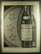 1933 Hennessy Cognac Ad - in French - photograph by Laure Albin Guillot