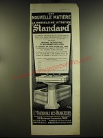 1932 Cie Nationale Des Radiateurs Standard Bath Fixtures Ad - in French