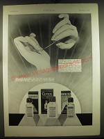 1932 Cutex Nail products Ad - in French - Embellir les Ongles c'est embellir