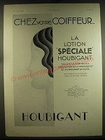 1932 Houbigant Advertisement - in French - Chez votre coiffeur