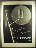 1932 L.T. Piver Advertisement - in French - un parfum d'aventure