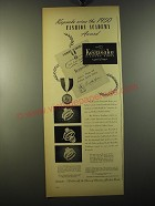 1950 Keepsake Rings Advertisement - Westwood, Heather and Malden