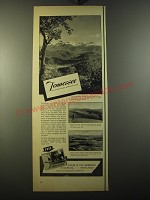 1950 Tennessee Tourism Ad - Tennessee the nation's most intersting state
