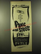 1950 Panic in the Streets Movie Advertisement - Elia Kazan