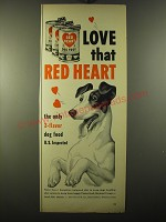 1950 Red Heart Dog Food Advertisement - Love that Red Heart