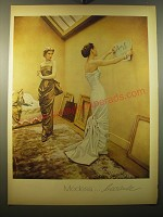 1950 Modess Sanitary Napkins Advertisement - Modess.. Because