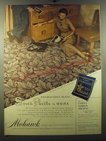 1950 Mohawk Carpet Ad - South Pacific by Mohawk