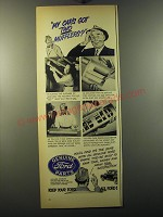 1950 Ford Genuine Parts Ad - My car's got two mufflers?