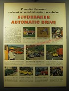 1950 Studebaker Cars Ad - Presenting the newest and most advanced automatic
