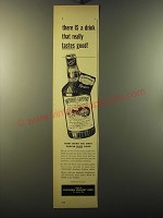 1950 Southern Comfort Ad - There is a drink that really tastes good