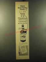 1950 Southern Comfort Ad - Makes better tasting drinks
