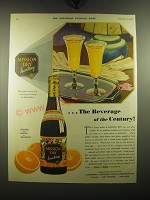1930 Mission Dry Sparkling Soda Ad - The beverage of the Century