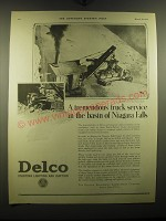 1924 Delco Starting Lighting and Ignition on Pierce-Arrow Trucks Advertisement