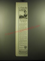 1923 Sundstrand Adding and Figuring Machine Ad - A new day in figure work