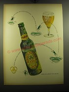 1949 Ballantine's Ale Advertisement - Purity, body and flavor in every glass