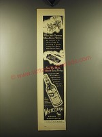 1948 White Horse Scotch Ad - The 18th century man-about-town