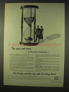 1947 U.S. Savings Bonds Ad - The Years Melt Away