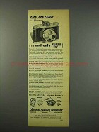 1947 Universal Camera Corporation Ad - The Meteor