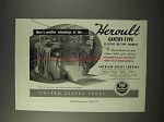 1947 United States Steel Heroult Gantry-Type Furnace Ad