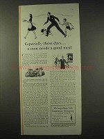 1942 Metropolitan Life Insurance Ad - Needs a Good Meal
