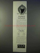 1934 NYK Line Cruise Ad - Japan This Summer