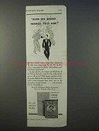 1934 Sir Walter Raleigh Tobacco Ad - His Worst Friends