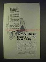 1926 Buick Car Ad - Better Needs But Little Owner Care