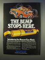 1982 Monroe Gas-Matic Shocks Ad - Bump Stops Here