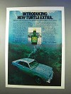 1978 Turtle Wax Turtle Extra Car Wax Ad - Introducing