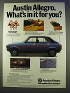 1977 Austin Allegro Car Ad - What's in It For You?