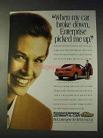 1995 Enterprise Rent-a-Car Ad - My Car Broke Down
