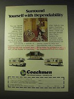 1976 Coachman RV Ad - Surround with Dependability