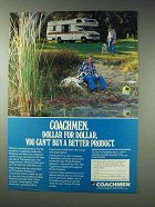 1981 Coachmen RV Ad - Dollar For Dollar Better Product