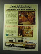 1979 Coachmen Cadet Travel Trailer RV Ad