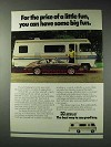 1979 Itasca Sun-cruiser Motor Home Ad - Have Big Fun