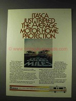 1977 Itasca Motor Home Ad - Tripled the Protection