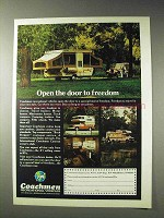 1977 Coachmen RV Ad - Open the Door to Freedom