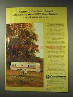 1977 Coachmen RV Ad - Some of The Best Things About