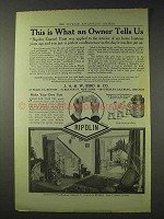 1914 Ripolin Enamel Paint Ad - What Owner Tells Us