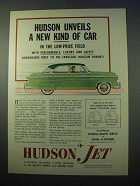 1953 Hudson Jet Car Ad - Unveils a New Kind of Car