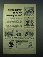 1953 Magna Shopsmith Tool Ad - Have Quality Features